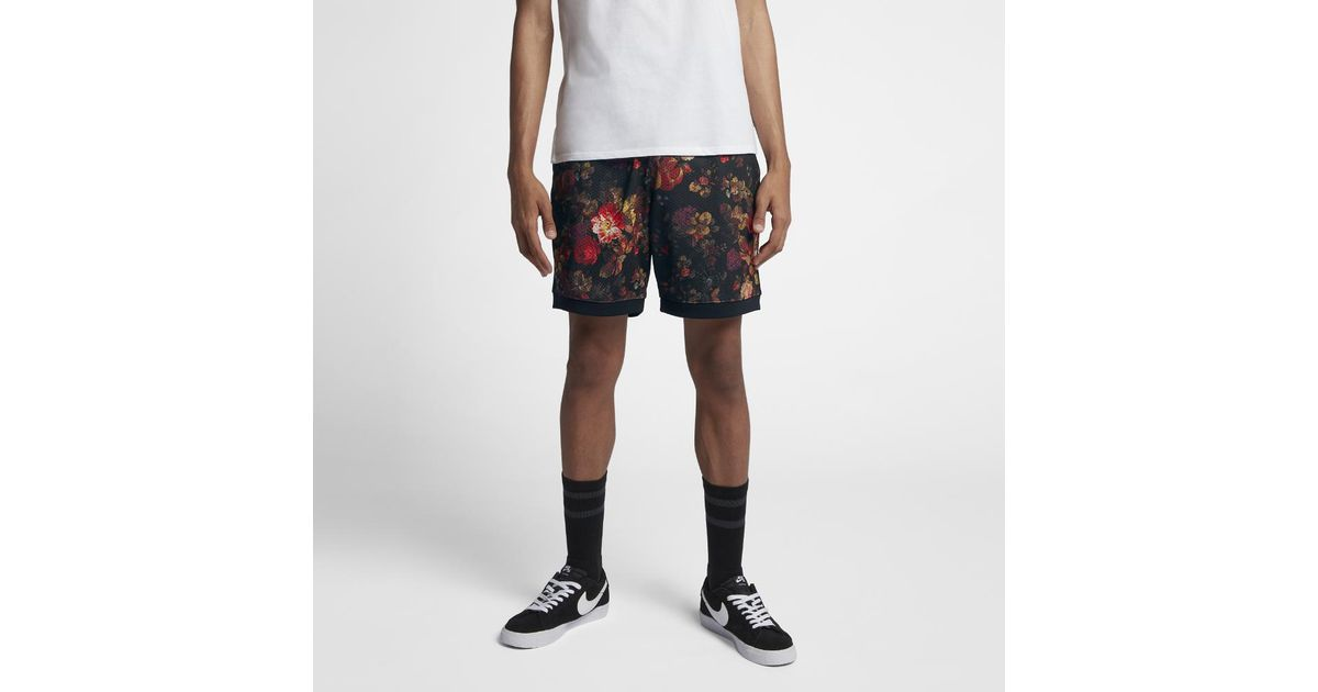 exquisite design new authentic cheap sale Nike Black Sb Dri-fit Men's Printed Shorts for men