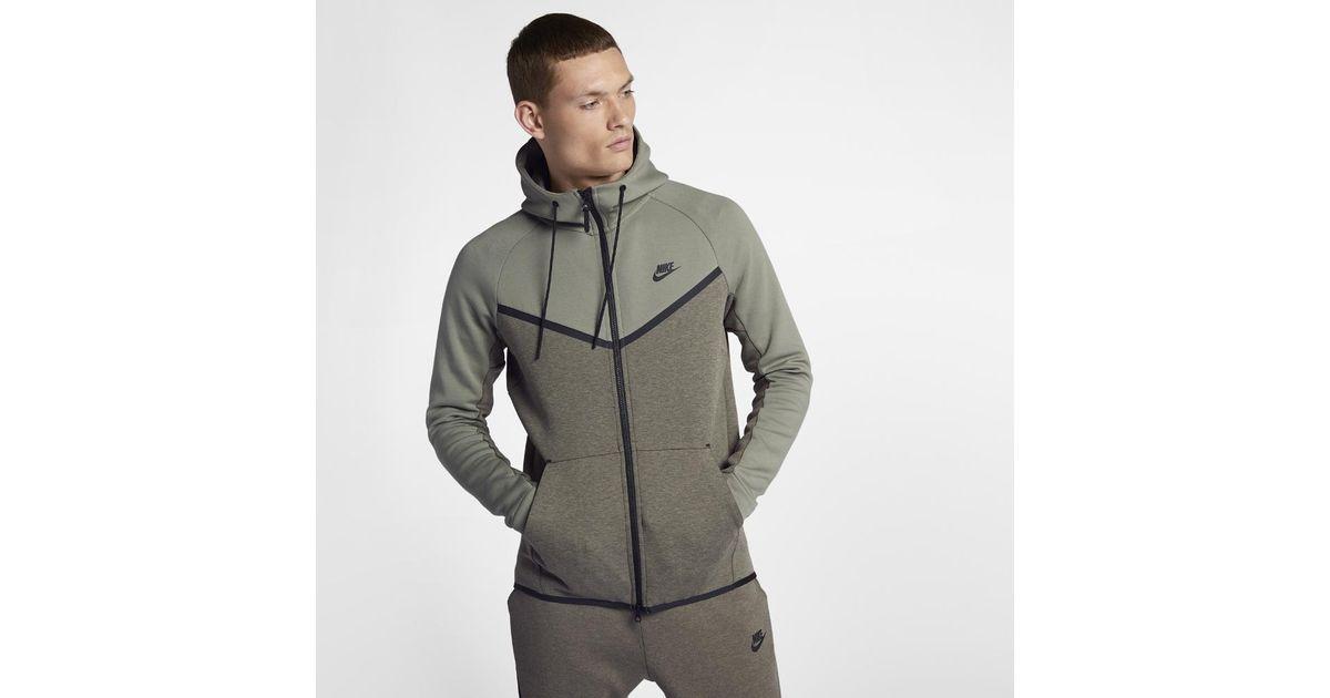 1401b0512e Lyst - Nike Sportswear Tech Fleece Windrunner Men s Full-zip Hoodie for Men