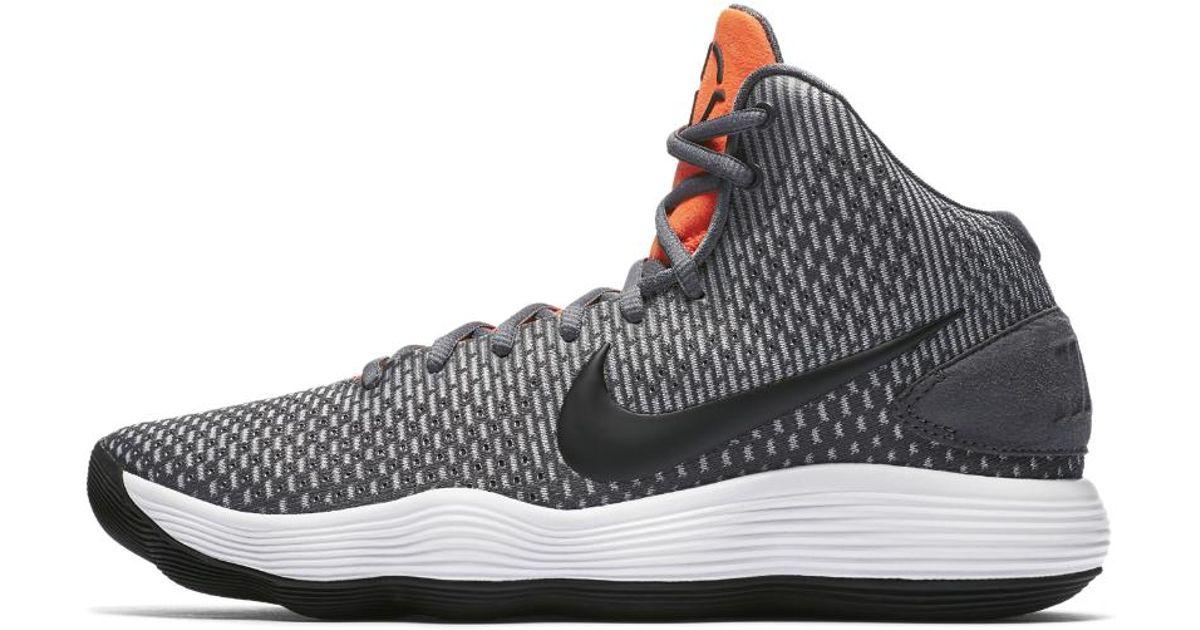 620ea8eb65d7 ... uk availability 255a3 cbc72 Lyst - Nike Hyperdunk 2017 Basketball Shoe  in Gray for Men ...