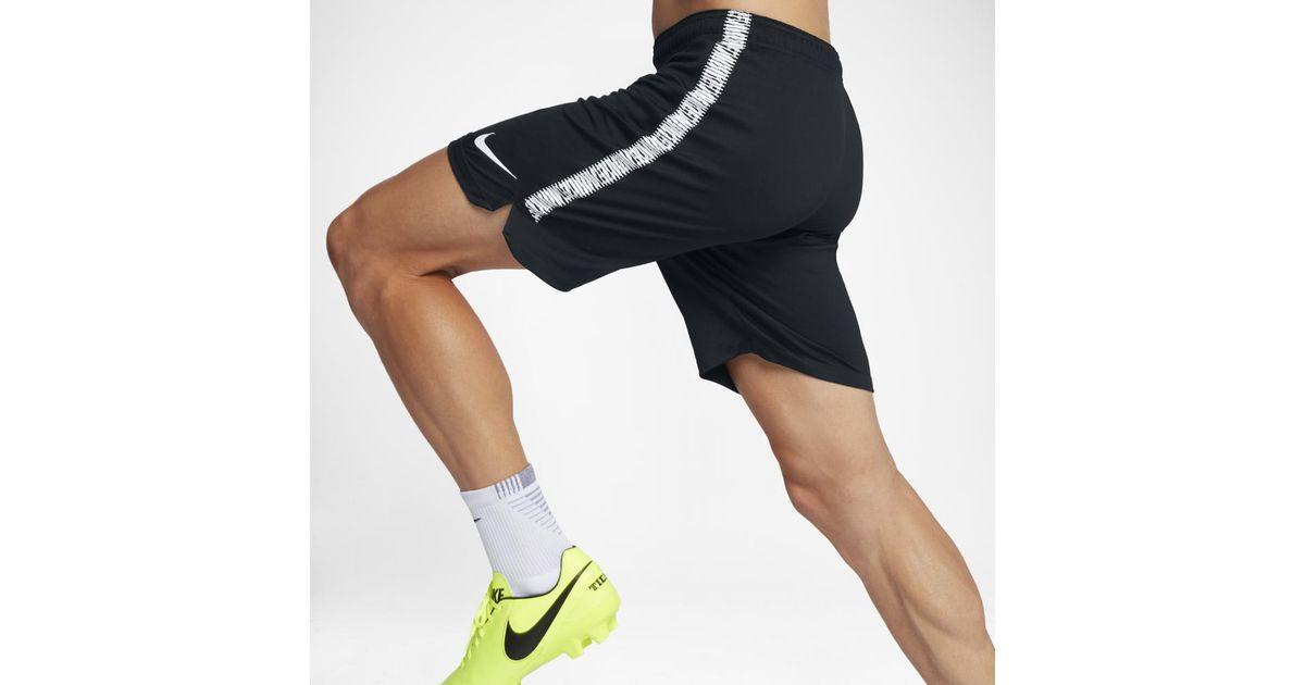 Nike Black Dry Squad Men's Soccer Shorts for men