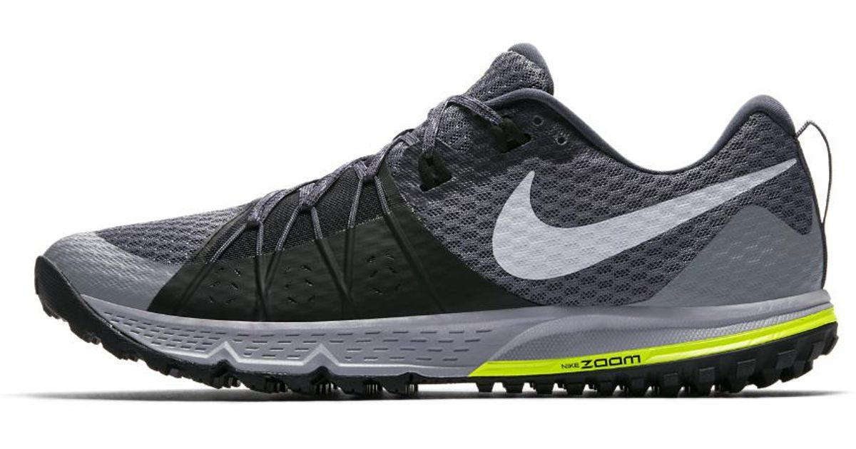 857e3168be02 Lyst - Nike Air Zoom Wildhorse 4 Men s Running Shoe in Gray for Men - Save  41%