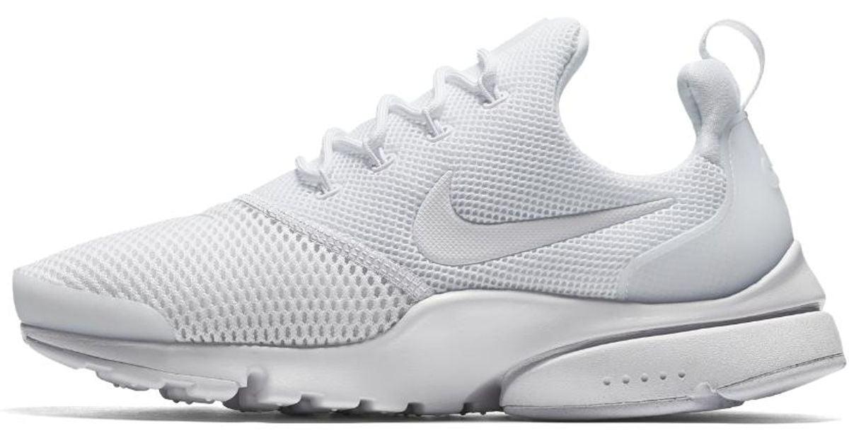 new product dd282 02558 Nike - White Presto Fly Women's Shoe - Lyst