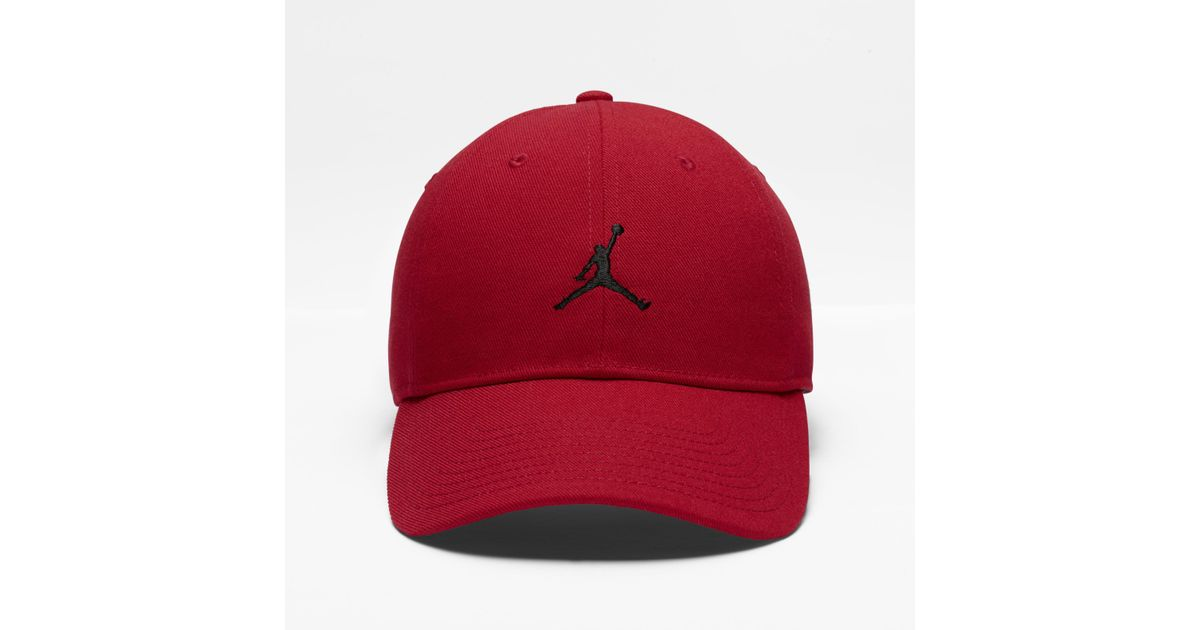 6d40c5206807d3 Nike Jumpman H86 Adjustable Hat, By Nike (red) in Red for Men - Lyst