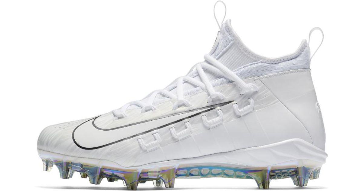 f621076f4fa Lyst - Nike Alpha Huarache 6 Elite Lax Lacrosse Cleat in White for Men