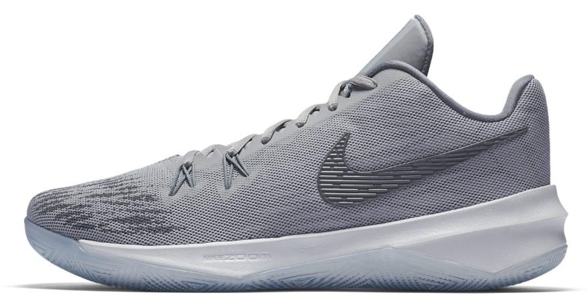 2483b7ccbcef Lyst - Nike Zoom Evidence Ii Men s Basketball Shoe in Gray for Men