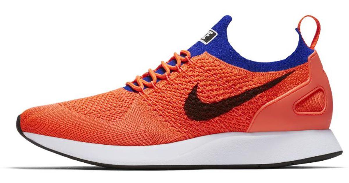 Nike Blue Air Zoom Mariah Flyknit Racer Men's Shoe for men
