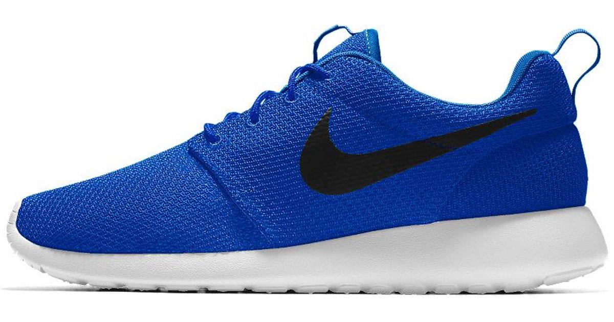 2101ef3cd5e Lyst - Nike Roshe One Essential Id Men s Shoe in Blue for Men