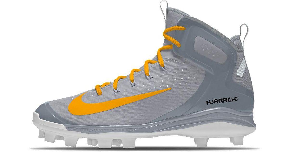 801b323930f6 Lyst - Nike Alpha Huarache Elite Mid Mcs Id Men s Baseball Cleats for Men