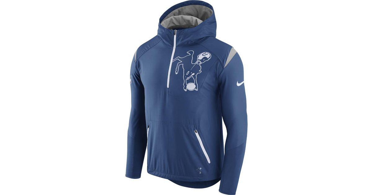 the best attitude 57a18 93d01 Nike Blue Lightweight Fly Rush (nfl Colts) Men's Jacket for men