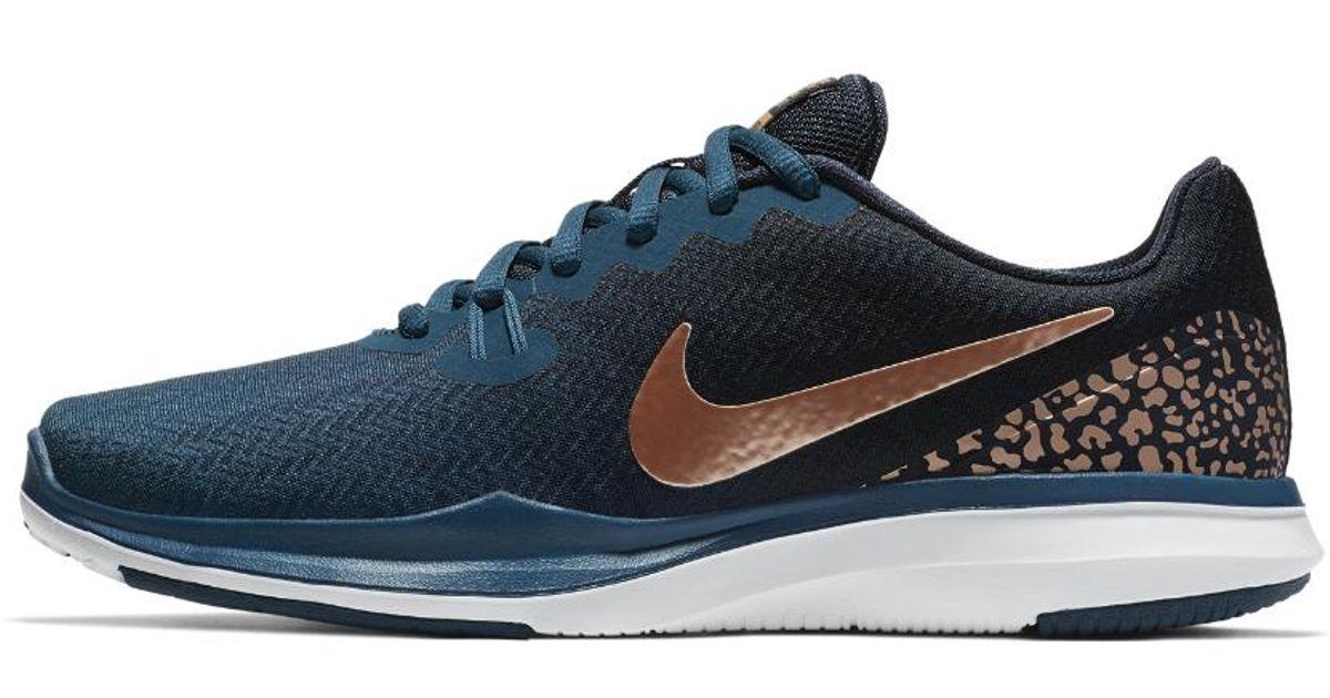 Lyst - Nike In-season 7 Print Women s Training Shoe in Blue 95f36ae16