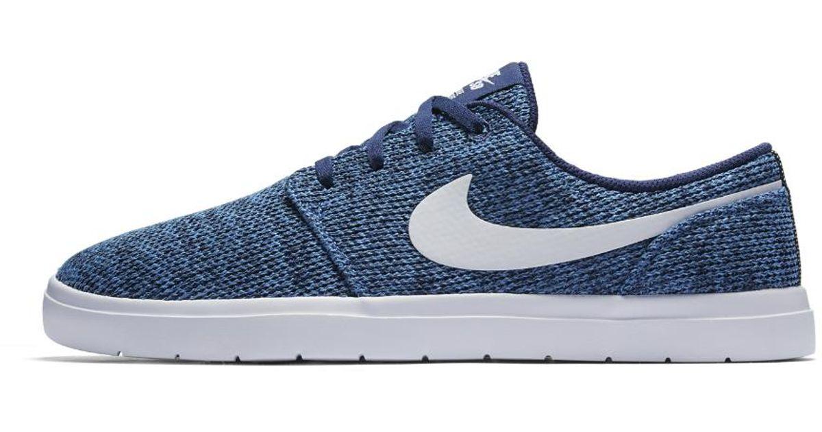 8731e97164c9 Lyst - Nike Sb Portmore Ii Ultralight Men s Skateboarding Shoe in Blue for  Men