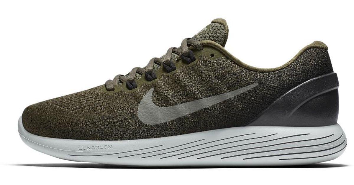 sports shoes c874f d83eb Nike Black Lunarglide 9 Men's Running Shoe for men