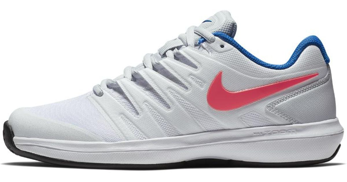 c0edfc6db966b Lyst - Nike Air Zoom Prestige Clay Women s Tennis Shoe in White