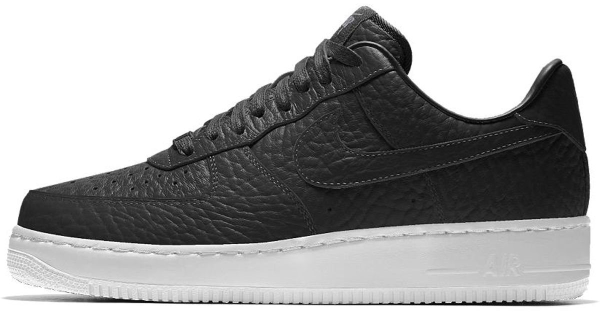 huge discount bc6a3 7cd97 Lyst - Nike Air Force 1 Low Premium Id (houston Rockets) Men s Shoe in  Black for Men