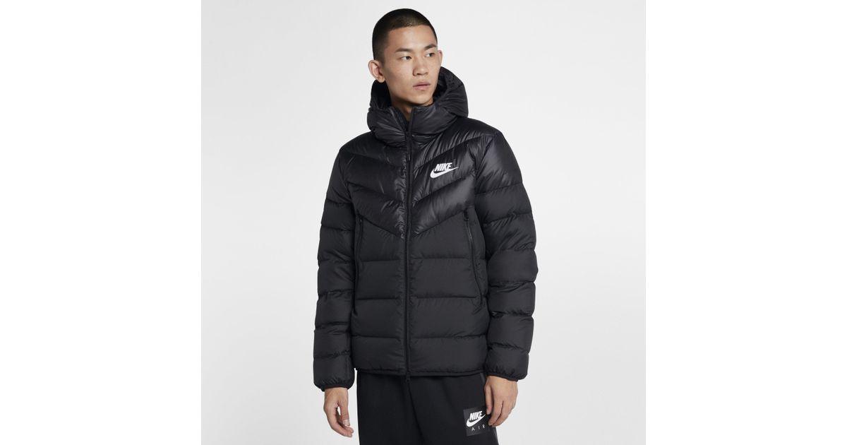 Down For Nike Black Windrunner Sportswear Men Jacket VGUzMpLqS