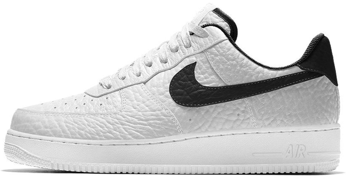 timeless design d1e02 2401b ... switzerland lyst nike air force 1 low premium id brooklyn nets mens shoe  in white for