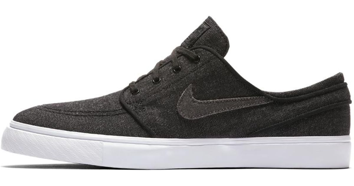 f94ed6783d Lyst - Nike Sb Zoom Stefan Janoski Canvas Deconstructed Men s Skateboarding  Shoe in Black for Men