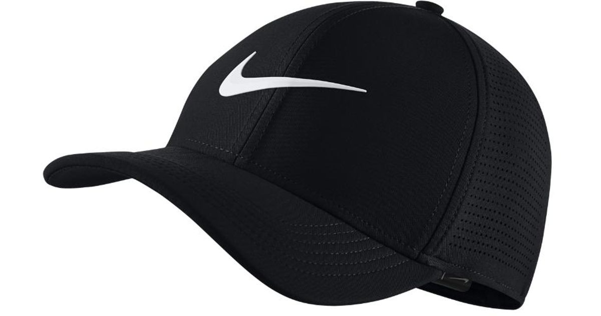 ac85e484 Lyst - Nike Classic99 Mesh Golf Hat in Black for Men - Save 20%