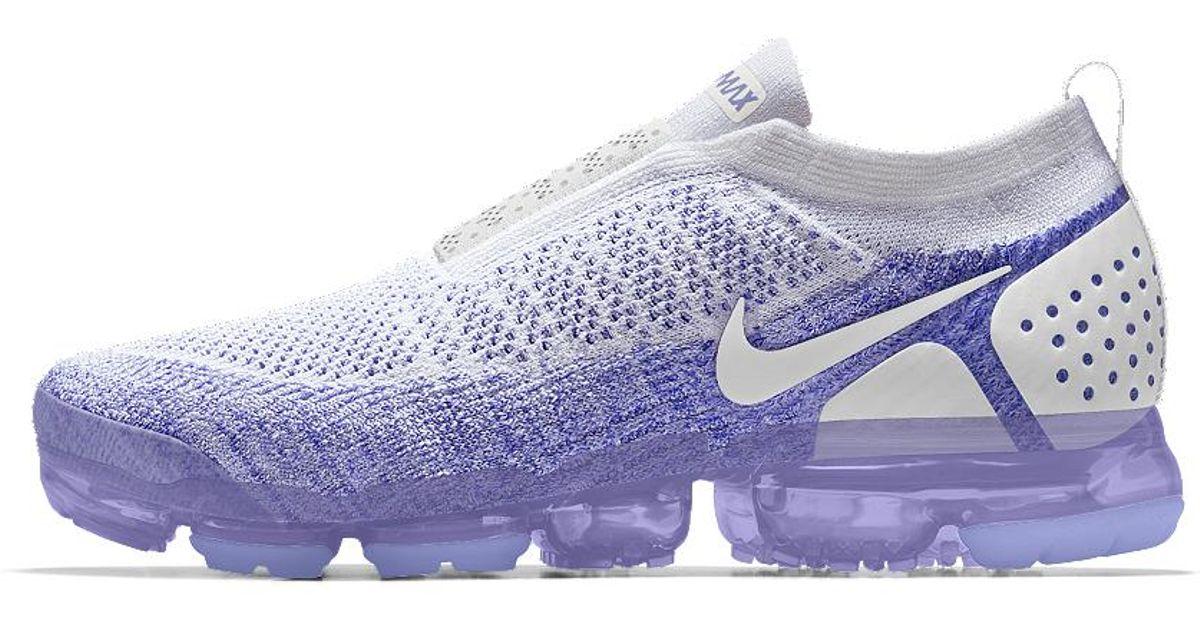 on sale 325b1 44938 Nike Purple Air Vapormax Flyknit Moc 2 Id Women's Running Shoe