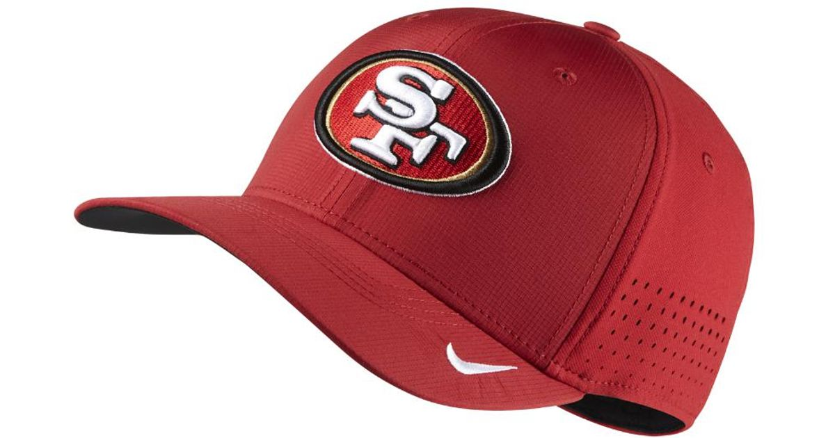 b6a7f364ca5 Lyst - Nike Swoosh Flex (nfl 49ers) Fitted Hat in Red for Men