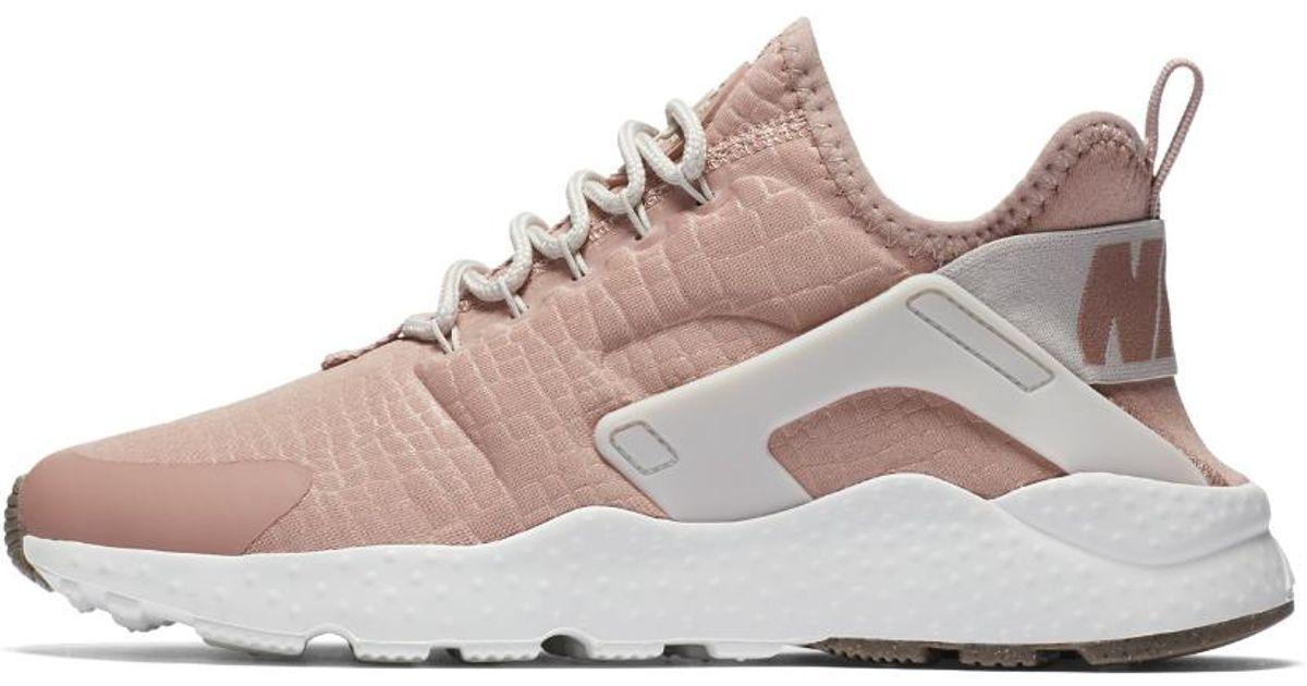 97b69bac8645 Lyst - Nike Air Huarache Ultra Women s Shoe in Pink