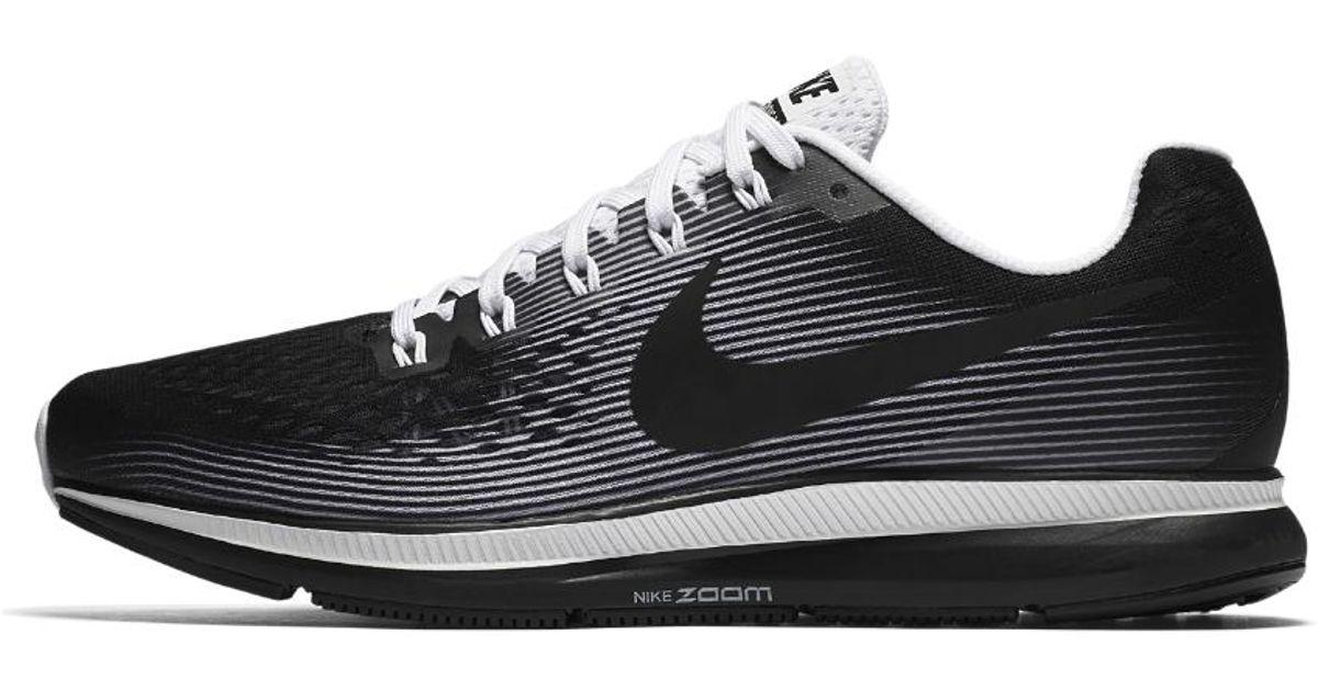 4bb6748e96b4 Lyst - Nike Air Zoom Pegasus 34 Le Men s Running Shoe in Black for Men