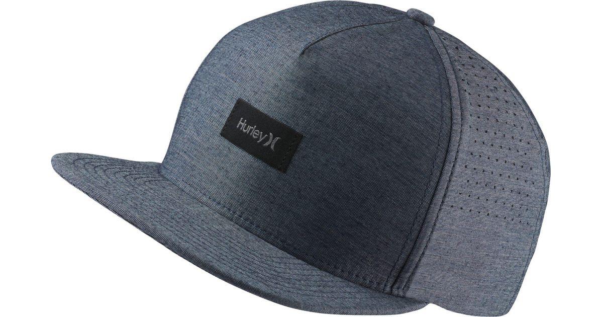 7020b4613181b Nike Hurley Dri-fit Staple Adjustable Hat in Blue for Men - Lyst