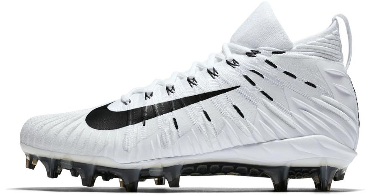 size 40 2e87e 59990 Lyst - Nike Alpha Menace Elite Mens Football Cleat in White