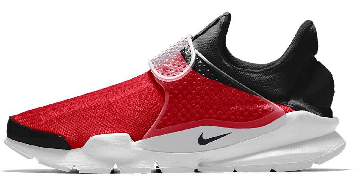 free shipping 3e67d 798ab Lyst - Nike Sock Dart Id Men s Shoe in Red for Men - Save 48%