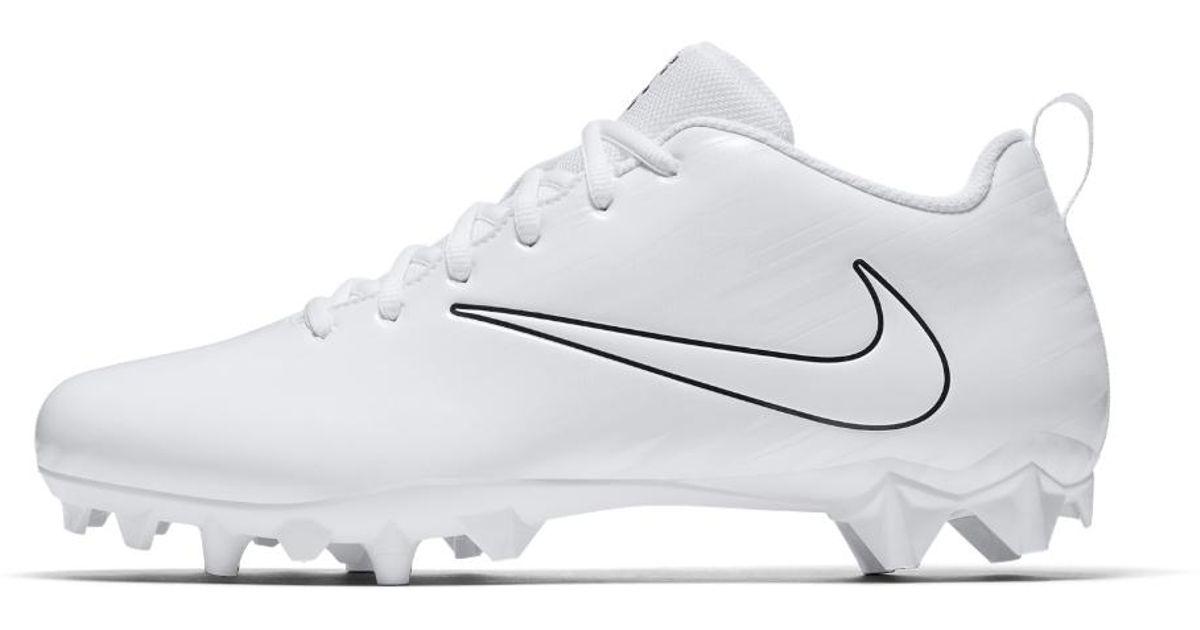 b4a0add8308 Nike Vapor Varsity Low Lax Lacrosse Cleat in White for Men - Lyst