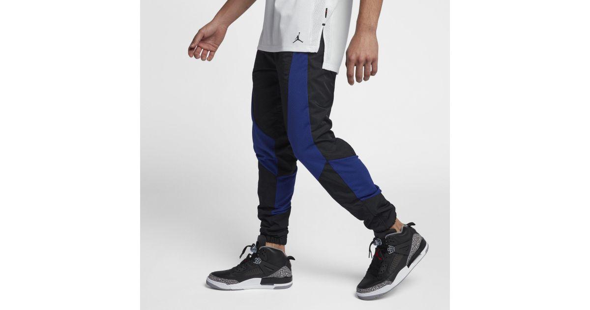 f1ab973f7cdc Nike Jordan Aj 1 Wings Basketball Trousers in Black for Men - Lyst