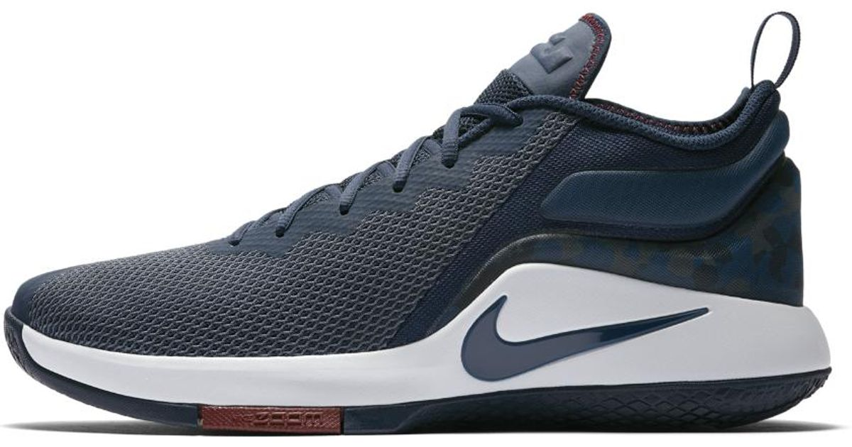 601488b0db3a Lyst - Nike Lebron Witness Ii Men s Basketball Shoe in Blue for Men