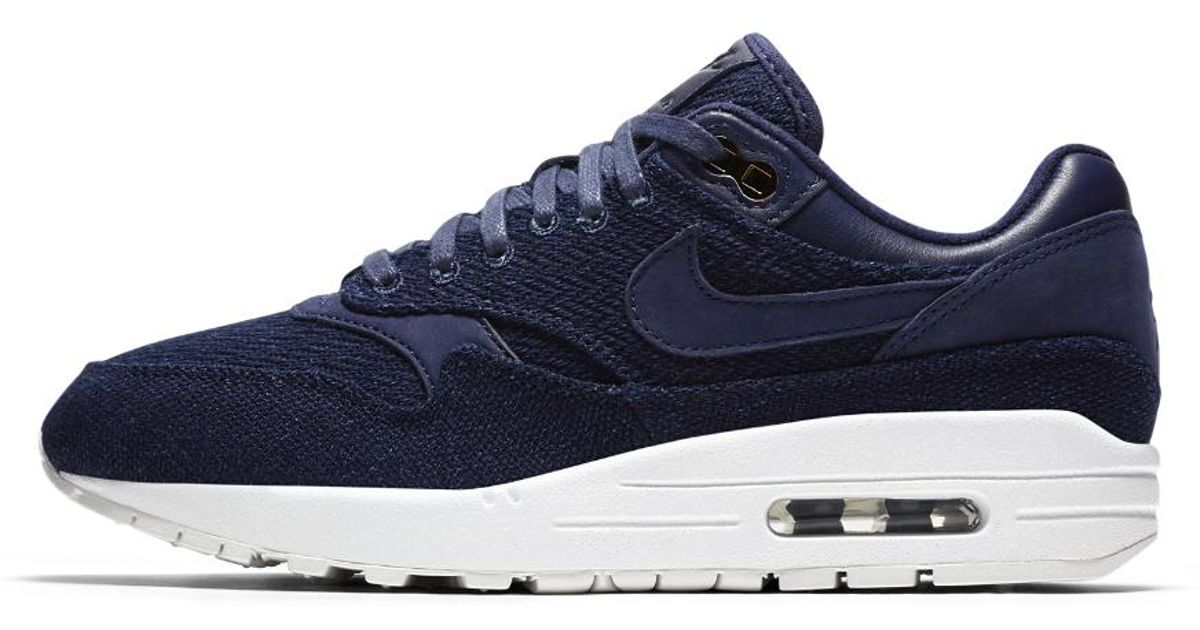 Lyst - Nike Air Max 1 Lux X London Cloth Company Women s Shoe in Blue 3fbdc7d83
