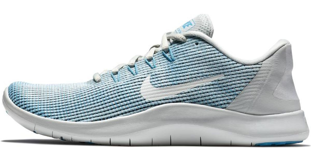 f3ee5e637e217 Lyst - Nike Flex Rn 2018 Women s Running Shoe in Blue