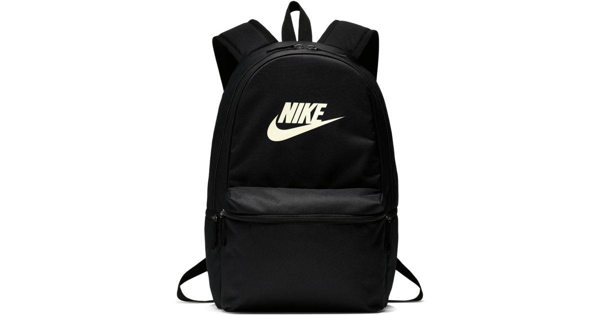 ponadczasowy design fantastyczne oszczędności wylot Nike Black Heritage Backpack