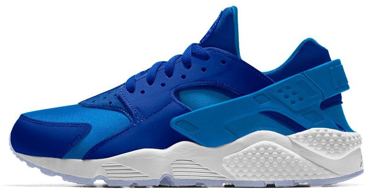 df5370141341f Lyst - Nike Air Huarache Essential Id Women s Shoe in Blue