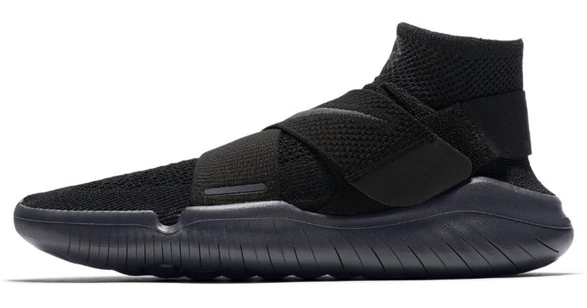 c9ded9e4c20 Lyst - Nike Free Rn Motion Flyknit 2018 Men s Running Shoe in Black for Men