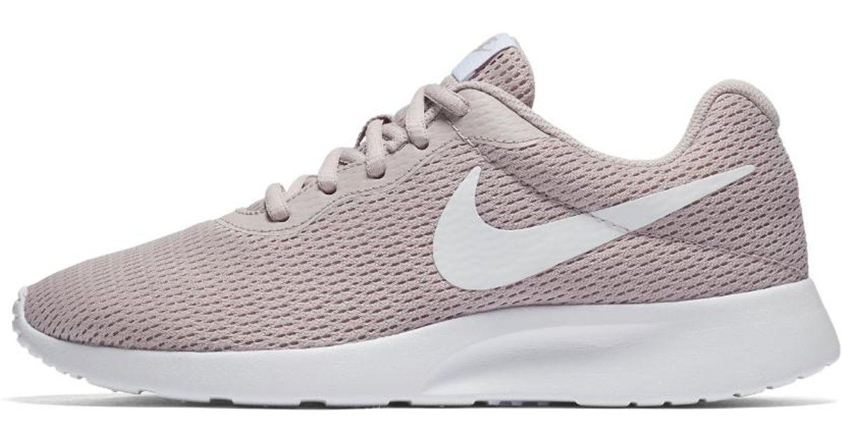 Nike White Tanjun Women's Shoe