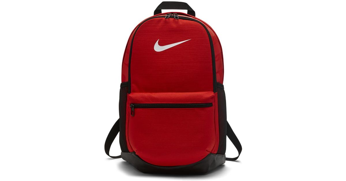 049ce31019e4 Lyst - Nike Brasilia (medium) Training Backpack (red) in Red