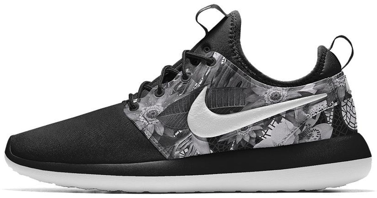 check out eb770 fdec8 Nike Gray Roshe Two Id Men's Shoe for men