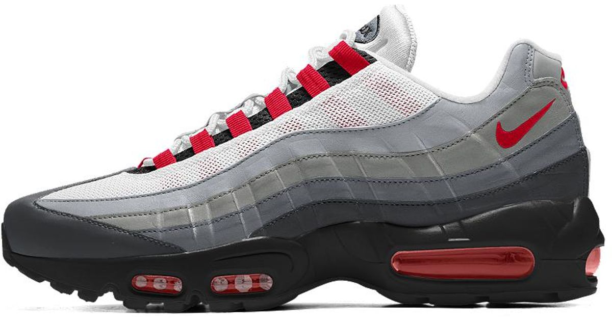 separation shoes e4217 f42ee ... Lyst - Nike Air Max 95 Id Men s Shoe for Men ...