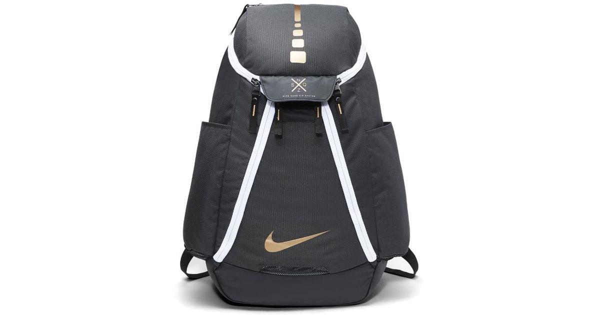 Lyst Nike Hoops Elite Max Air Team 2 0 Basketball Backpack Black dadd9bf0ec