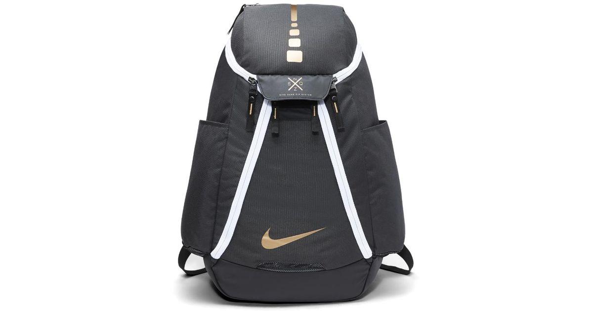 official photos d0c5b 7bb92 Nike Hoops Elite Max Air Team 2.0 Basketball Backpack (black) in Black for  Men - Lyst