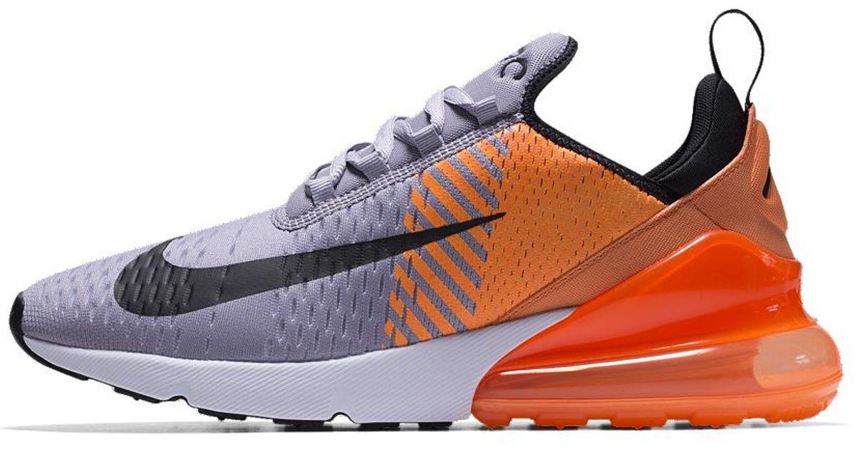 huge discount 23b40 cb46d Nike Air Max 270 Premium Id Men s Shoe for Men - Lyst