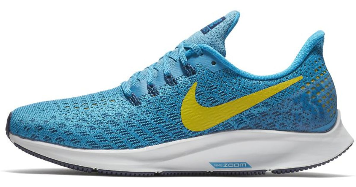 43bcc2af41f50 Lyst - Nike Air Zoom Pegasus 35 Women s Running Shoe in Blue - Save 36%