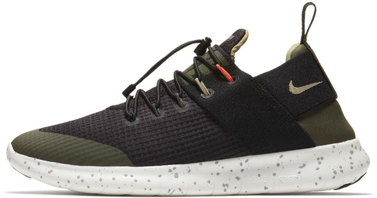 Nike Black Free Rn Commuter 2017 Utility Women's Running Shoe
