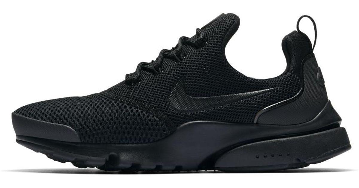 new concept aedf4 90fc4 Nike - Black Presto Fly Women's Shoe - Lyst