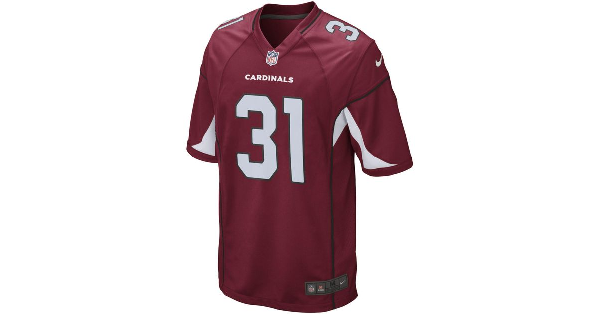 online store 1fbcc acef6 Nike - Red Nfl Arizona Cardinals Limited Jersey (david Johnson) Men's  Football Jersey for Men - Lyst