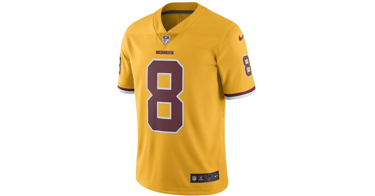 6da5861f Nike Multicolor Nfl Washington Redskins Color Rush Limited (kirk Cousins)  Men's Football Jersey for men