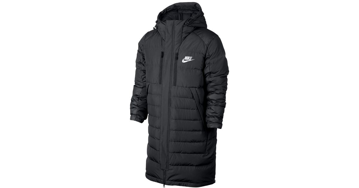 783bd55ac Nike Black Sportswear Parka Men's Down Jacket for men